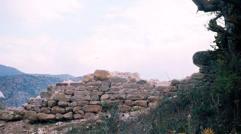 Добро зачуван ѕид од старата црква