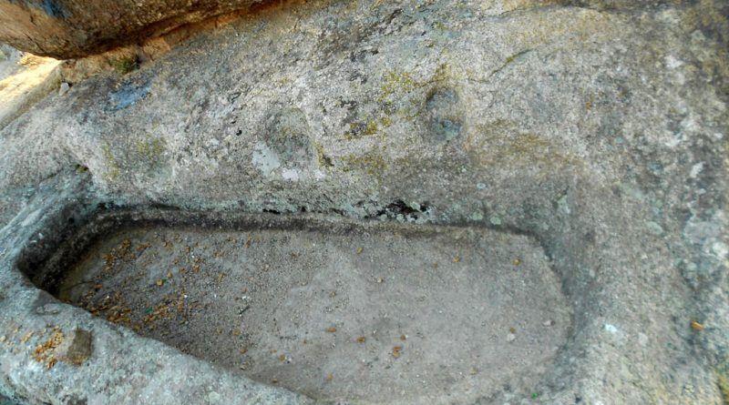 Еден од садовите од североисточната страна