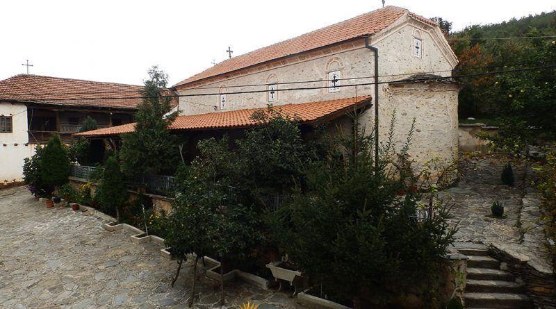 """Црквата """"Рождество на Пресвета Богородица"""" во Поречкиот манастир"""