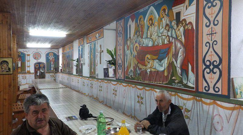 Трпезарија - северен ѕид