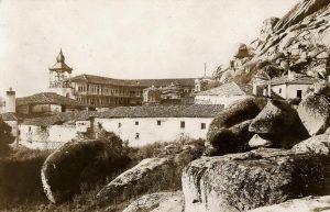 """Манастирот """"Трескавец"""" во 1917 година"""