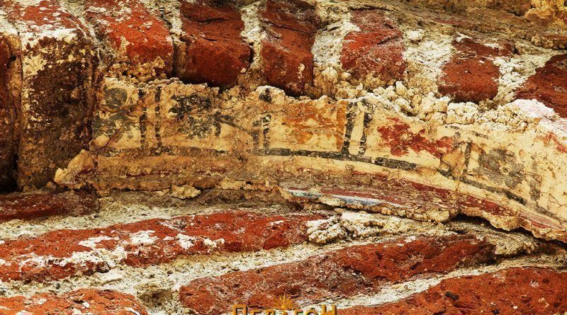 Остатоци од живописот на западната ниша