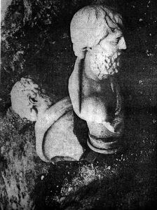 Филоксен и Орест во ископините