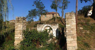 Шарената чешма од селото Дуње
