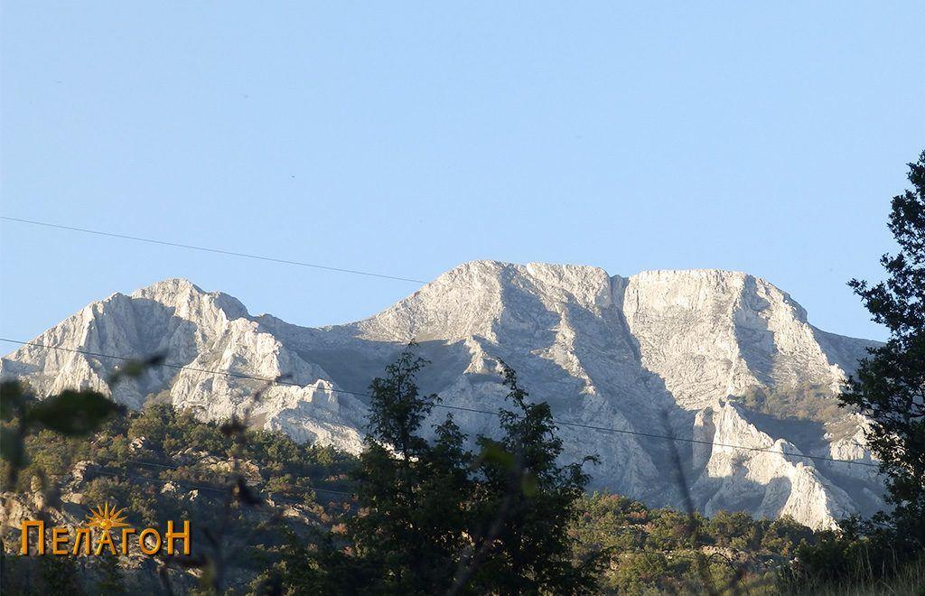 Врвот Козјак од југ