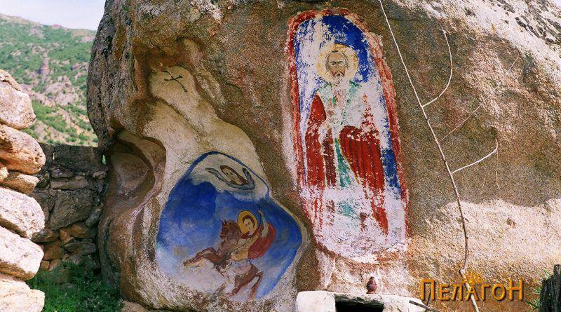 Св. Никола и св. Димитрија
