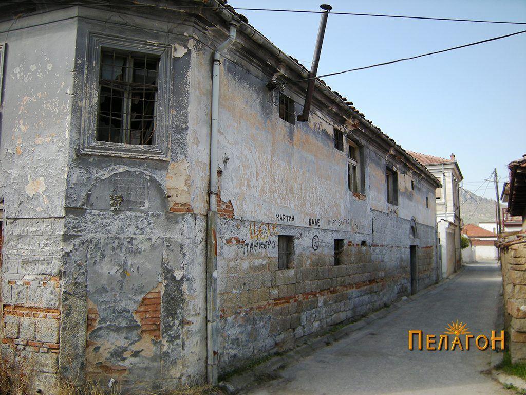 """Почетокот на улицата """"Цариградска"""" (""""Круме Волнароски"""") со куќата под бр. 1"""