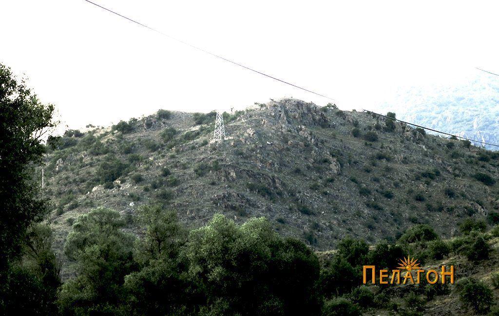 Маркови Кули - Градот од југ