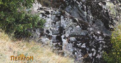 Почетниот дел на светилиштето - ан-фас