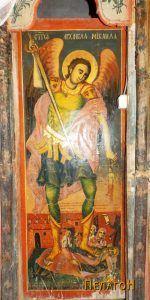 Иконата со св. Архангел Михаил од Никола Крстев
