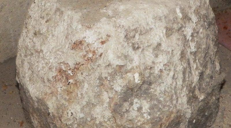 """Објект од камен во црквата """"Св. Димитрија"""""""