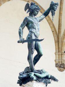 Персеј со главата од Медуза - Benvenuto_Cellin