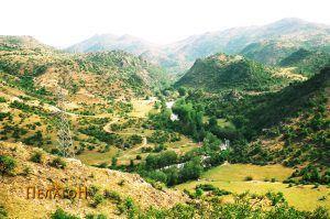 Поглед во долината на Црна Река од тврдината