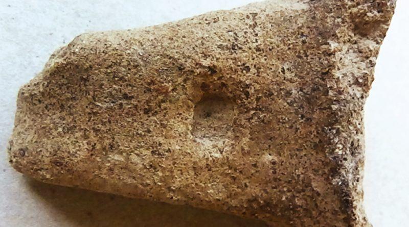 Рачка од керамички сад со трапезоидна форма