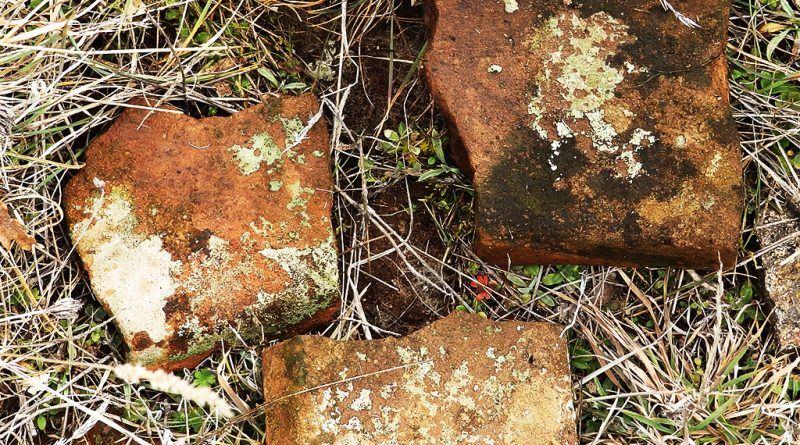 Фрагменти од тегули од храмот