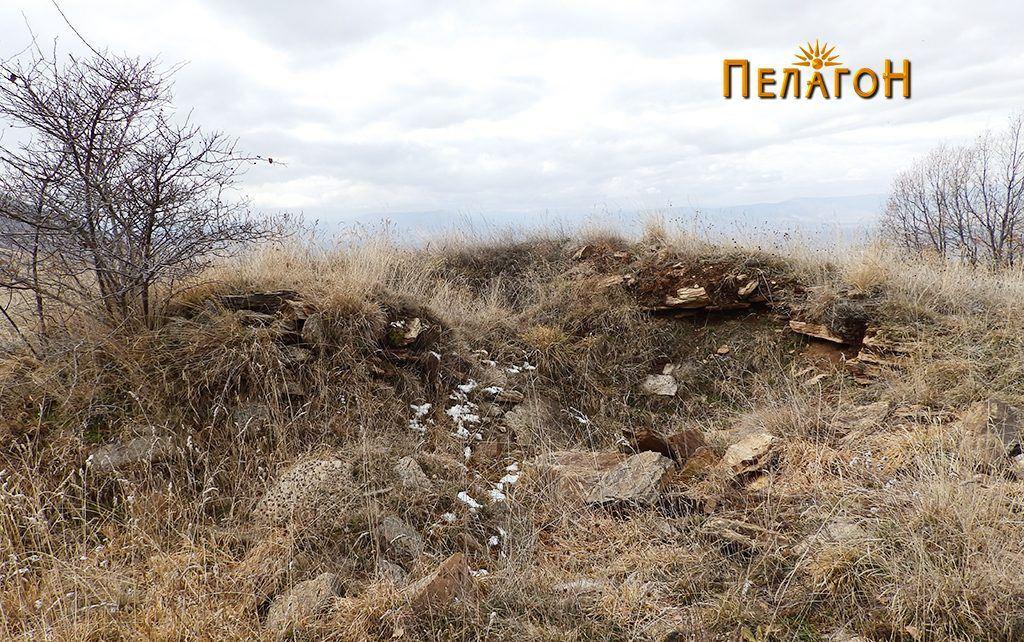 Раскопан дел од местото на храмот