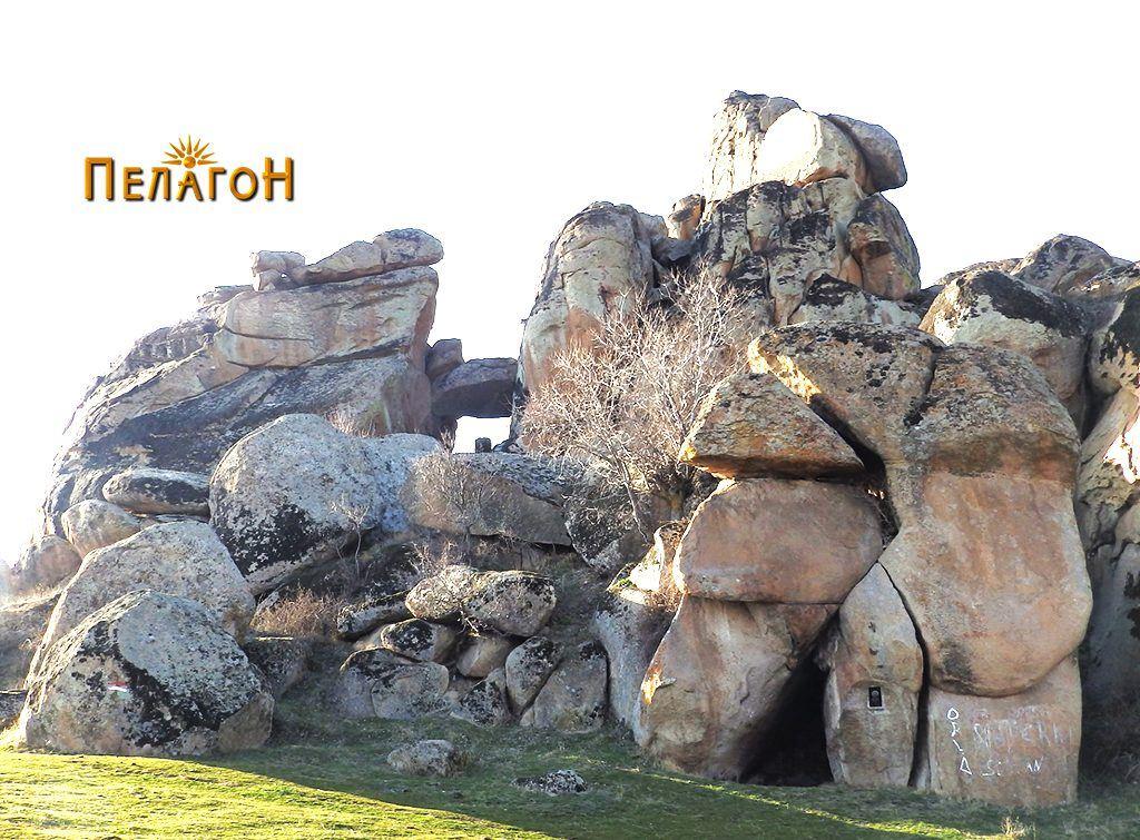 Еден мистичен дел од Маркови Кули кај Прилеп - Барутана