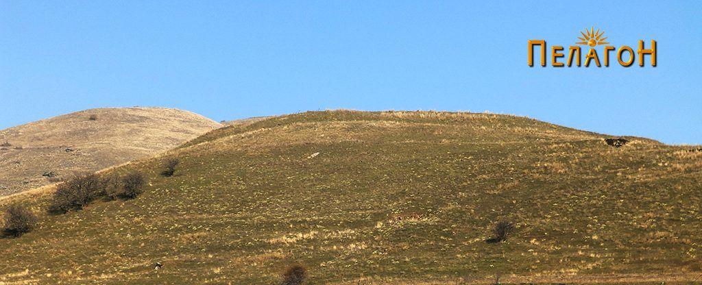 """Ридот """"Градиште"""" со остатоци од тврдината на античкиот град"""
