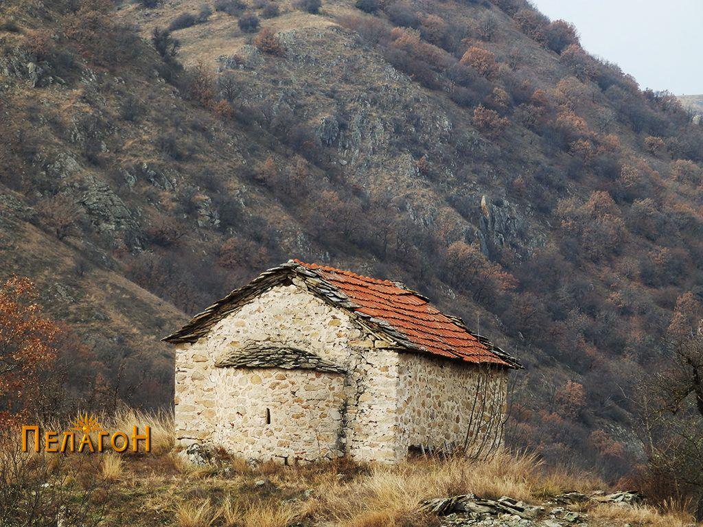 """Црквата """"Св. Спас, од северозападна страна"""