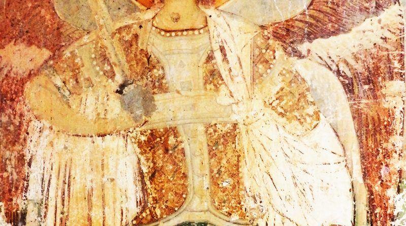 Св. Архангел Михаил, на западниот ѕид - долу