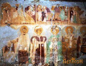 Св. Дамјан, св. Георгие, св. Димитрија, св. Атанас и св. Никола