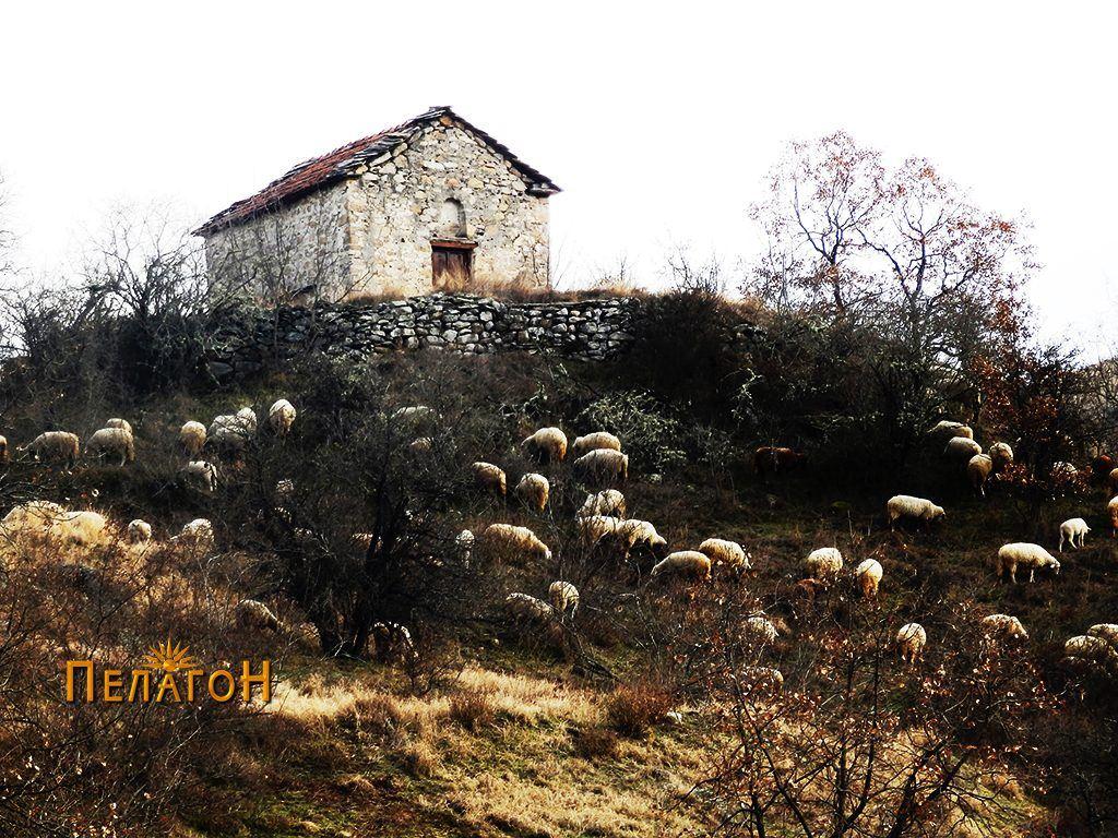 "Црквата  ""Св. Спас"" од запад"