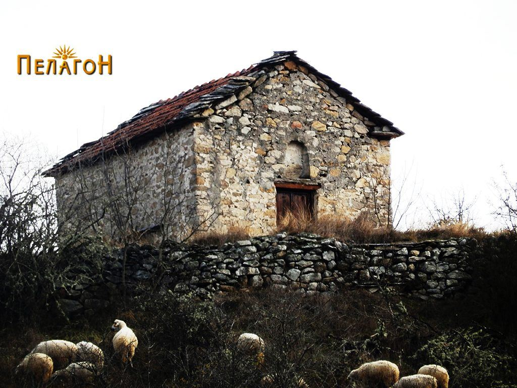"Црквата  ""Св. Спас"" од запад - од поблиску"