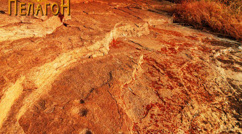 Трознак во поткарпа на северозападната страна на карпата 2