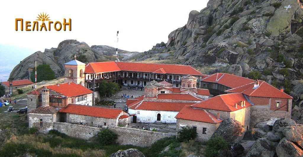 """Манастирот """"Трескавец' од југоисточната страна"""