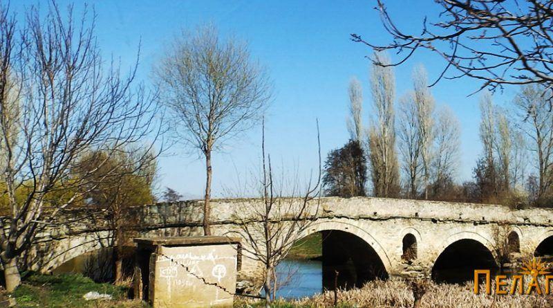 Камениот мост на Црна Река кај селото Бучин