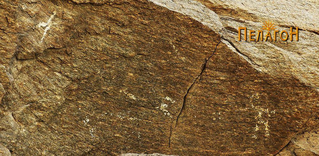 """Делот со цртежи на профилот на карпата на """"Чардак"""" од северозапдната страна"""