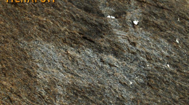 """Четириножно животно на профилот на карпата на """"Чардак"""" од северозапдната страна"""