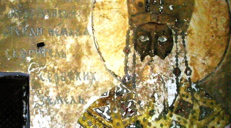 Обновениот живопис посветен на царот Стефан Душан