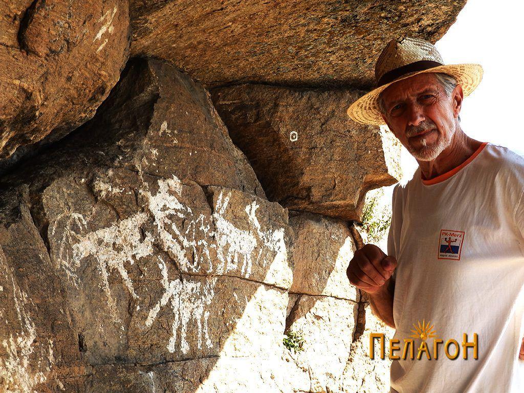 """Во посета на композицијата на """"Чардак"""" со ликовниот уметник и ентузијаст Александар Настески од Тетово"""
