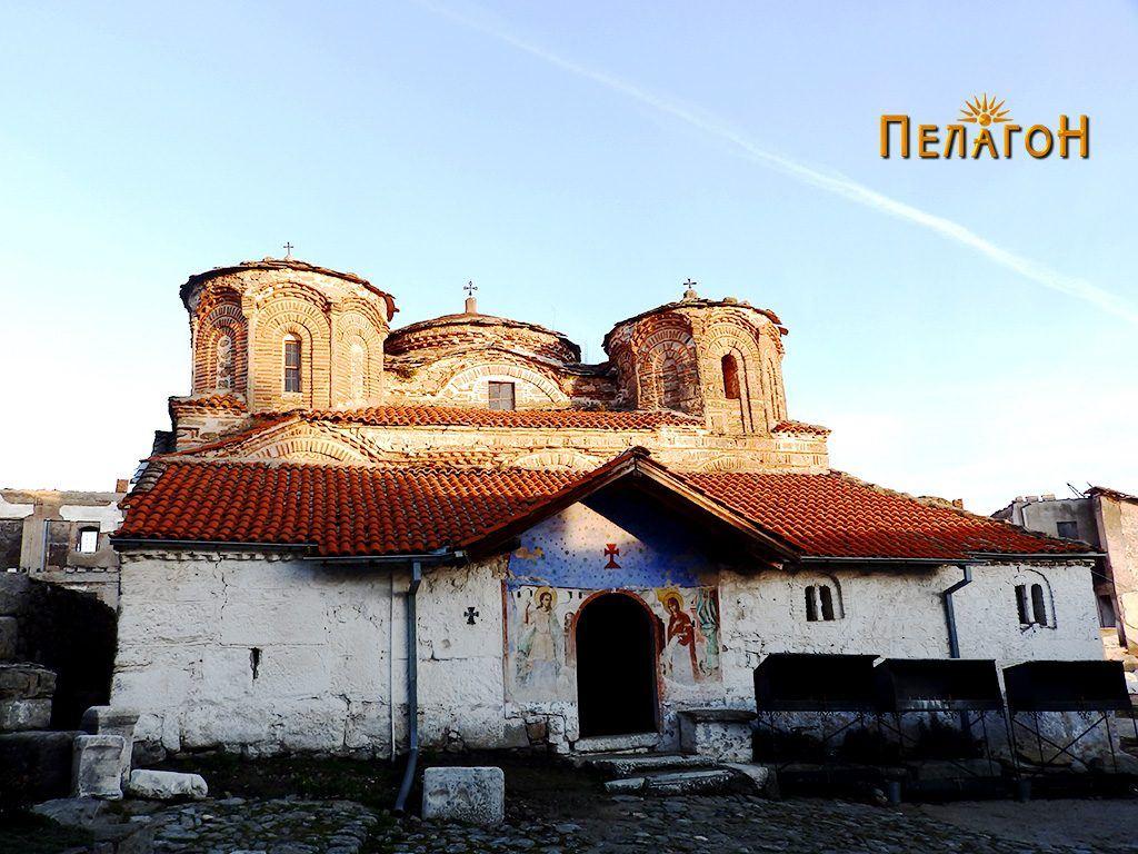 """Црквата """"Успение на Пресвета Богородица"""" во манастирот """"Трескавец"""""""