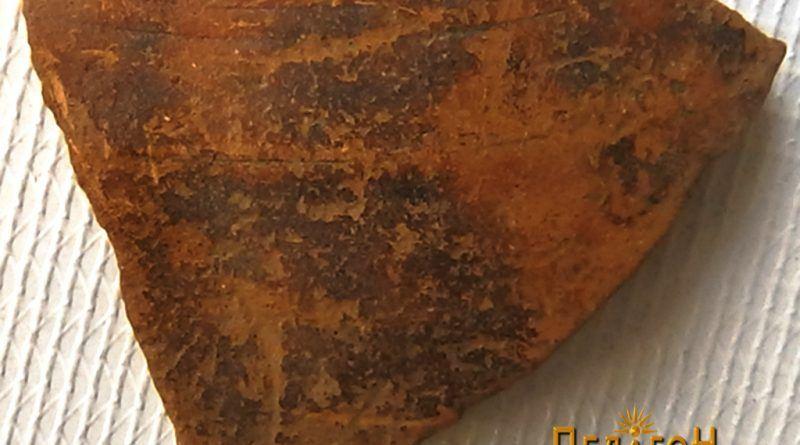 Фрагмент од керамички сад