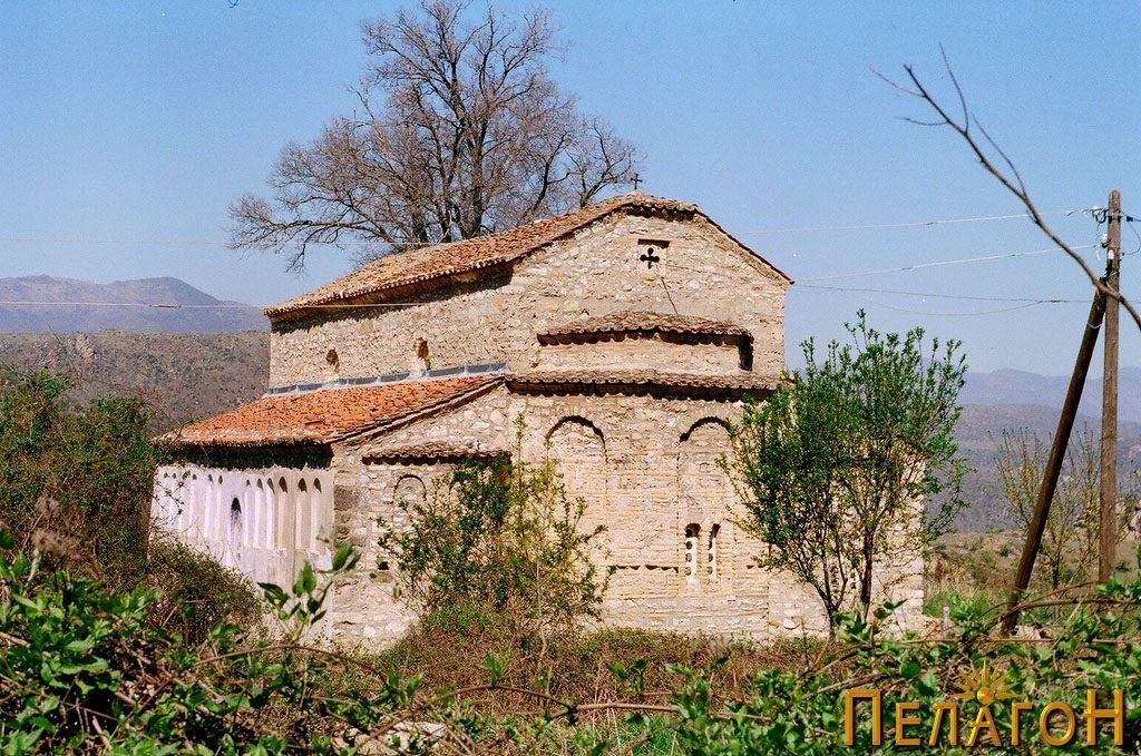 """Црквата """"Св. Никола"""" од југоисток"""
