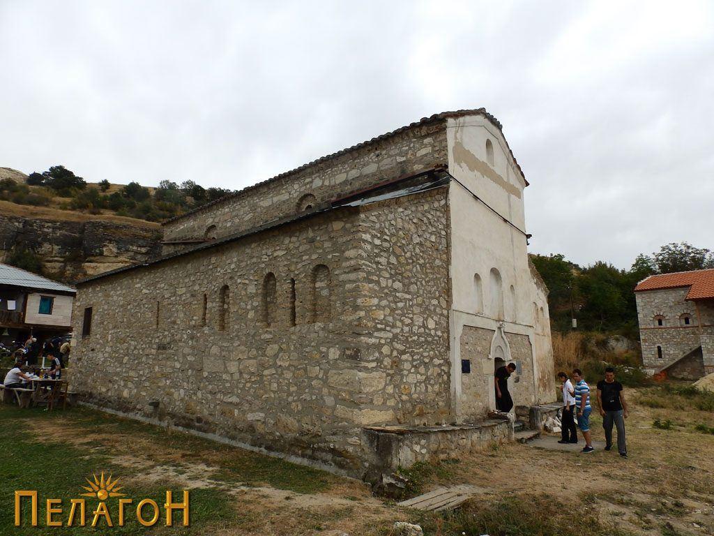 """Црквата """"Св. Никола"""" од северозапад"""