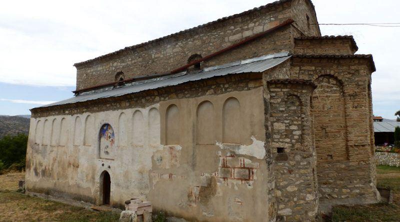 """Црквата """"Св. Никола"""" од - од југоисток"""