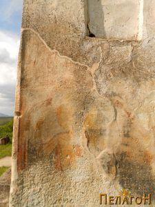 Остаток од живописот на јужниот ѕид 3