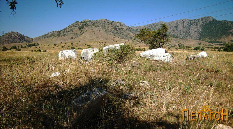 """Градбата на л. """"Гробишта"""" од западната страна"""