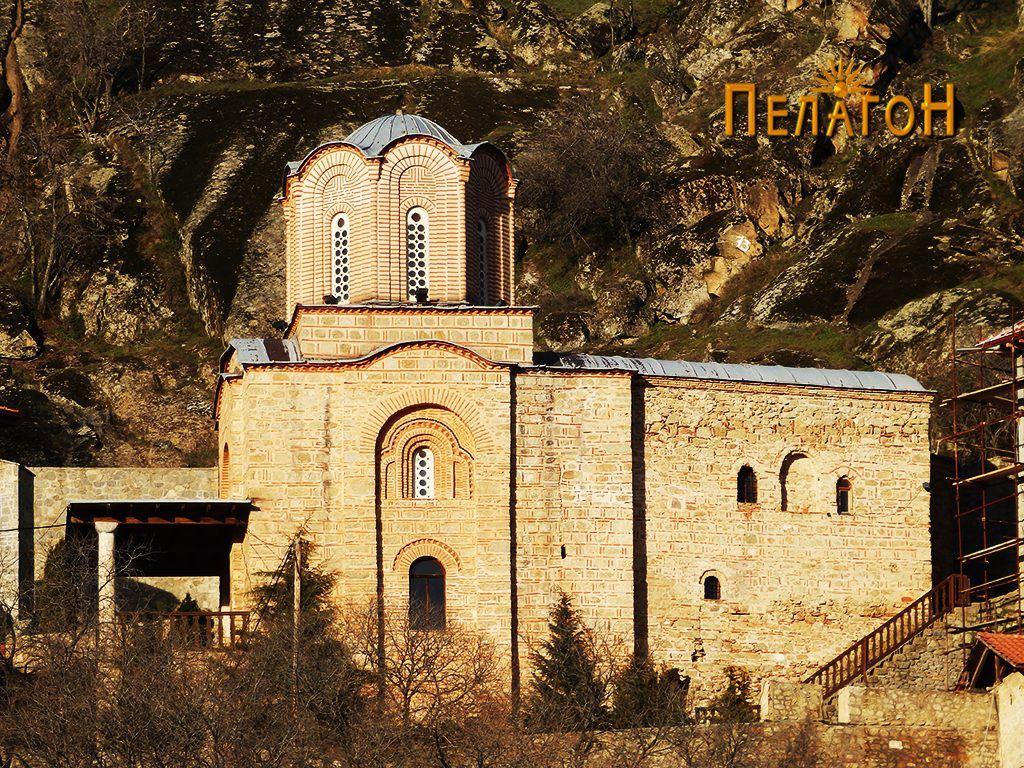 """Црквата во манастирот """"Св. Архангел Михаил"""""""