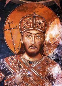 Цар Стефан Душан од Лесновскиот манастир