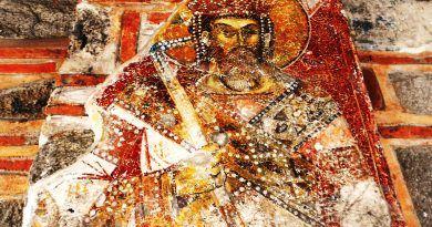 Крал Марко од живописот во манастирот над Варош