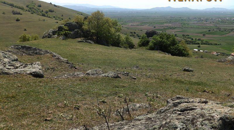 Од горната површина на Кале 1