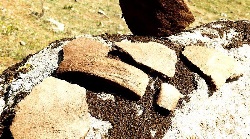Група фрагменти од керамички садови 2