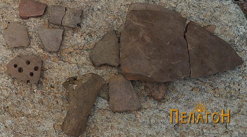 Група фрагменти од керамички садови 4