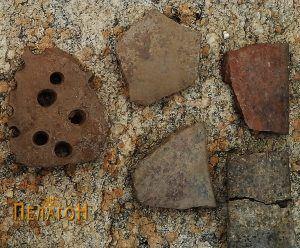 Група фрагменти од керамички садови 5