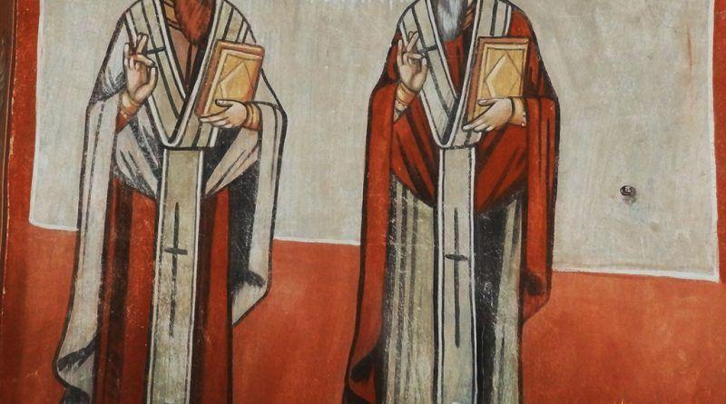 Св. Василиј и св. Григориј Двослов