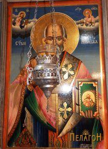 Св. Никола - икона од иконостасот